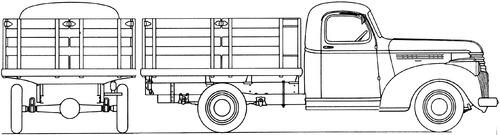 Chevrolet 0.75ton Stake Truck (1941)
