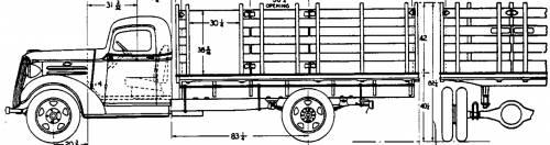 Chevrolet 1.5t Stake (1937)