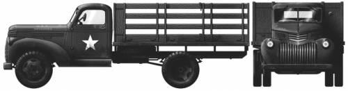 Chevrolet 3116 1.5-ton 4x2
