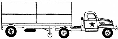 Chevrolet 4x4 Semi-trailer (1943)