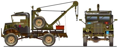 Chevrolet C15A 4x4 Truck Crane