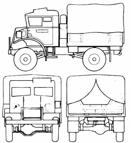 Chevrolet CMP 15cwt GP Truck