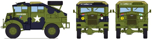 Chevrolet CMP CGT 8440 Field Artillery Tractor