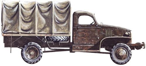 Chevrolet G506 1.5-ton 4x4 1943