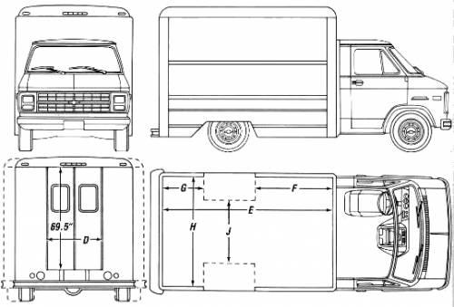 Chevrolet Hi-Cube Van (1990)