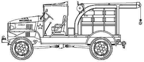 Chevrolet M6 Bomb Service