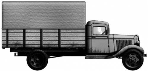 Chevrolet RD 4x2 (1940)