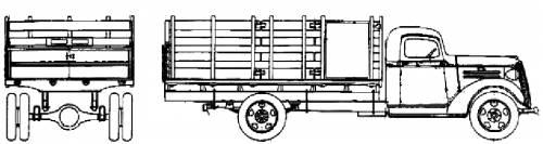 Chevrolet Stake Express 1.5ton (1937)