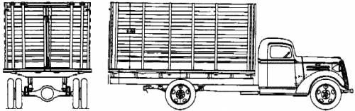 Chevrolet Stock 1.5ton (1937)