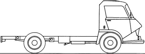Citroen Belphegor 380 Truck (1969)