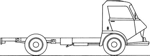 Citroen Belphegor 600 Truck (1969)