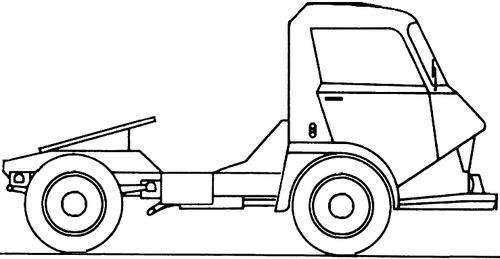 Citroen Belphegor 700 Tractor Truck (1969)
