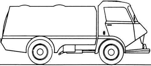 Citroen Belphegor 850 Truck (1969)