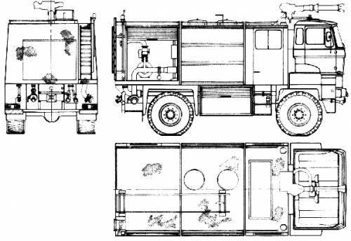 DAF 3300 DKX Fire Truck (1986)