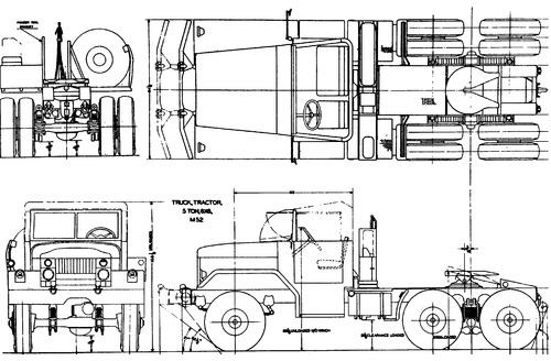 Diamond T M52 5ton 6x6 Tractor (1959)