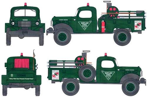 Dodge Power Wagon 0.75ton 4x4