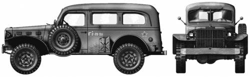 Dodge WC-53 Carryall 4x4