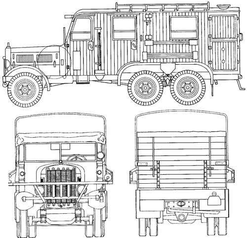 Dodge WC-62 1.5ton 6x6