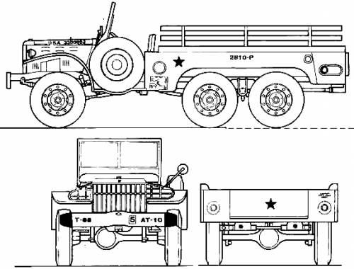 Dodge WC-62 6x6 1.5t