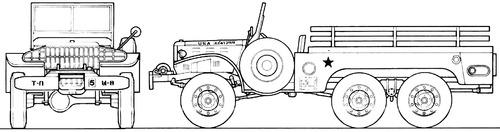 Dodge WC-63 1.5-ton 6x6
