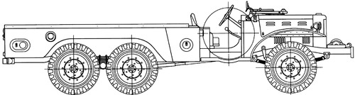 Dodge WC-63 1.5ton 6x6