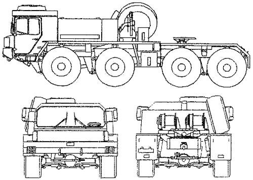 Faun FS 46.60 8x8