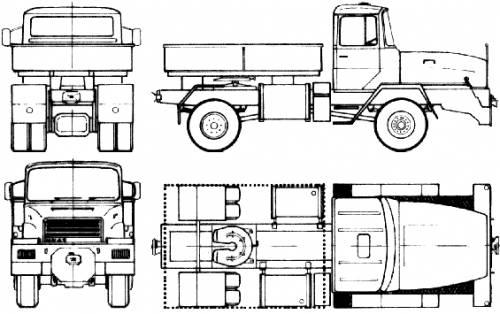Faun HZ 19.25 (1980)