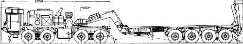 Faun SLT-56 Pantzer Transporter
