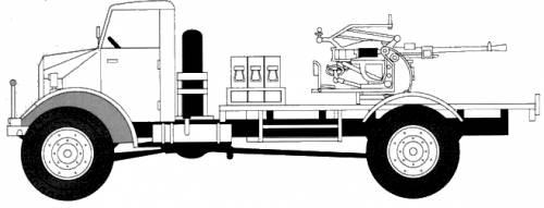 Ford CMP 60L + 20mm Breda