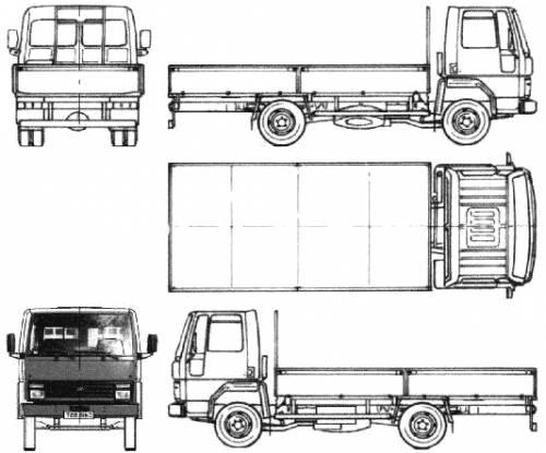 Ford E Cargo 0609 (1986)