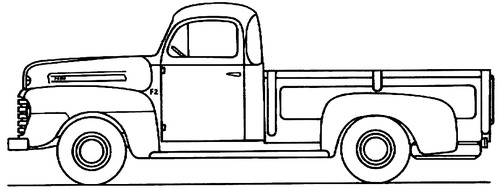 Ford F-2 Pick-up 1948