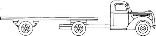 Ford V8 3-ton Semi-Trailer (1938)