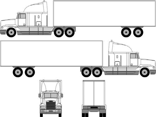 Freightliner Cascadia Sleeper Raised Roof (2014)