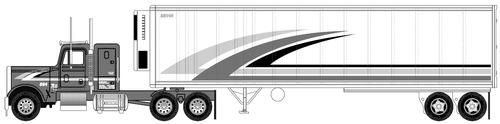 Freightliner Semi Trailer