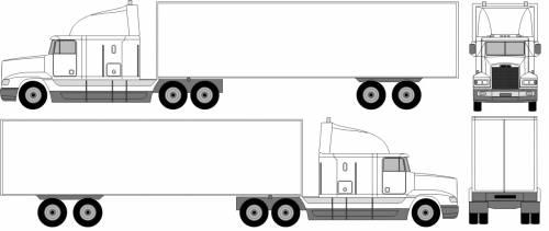Freightliner Semi-Trailer (1995)