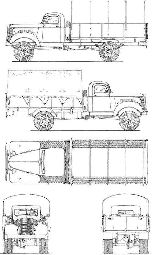 GMC ACK-353 1.5 ton 4x4