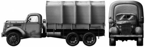GMC ACKWX-353 6x6 3ton