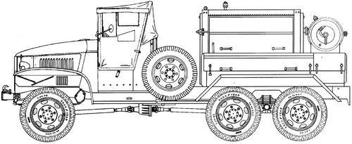 GMC CCKW-352 2.5 ton 6x6 D318
