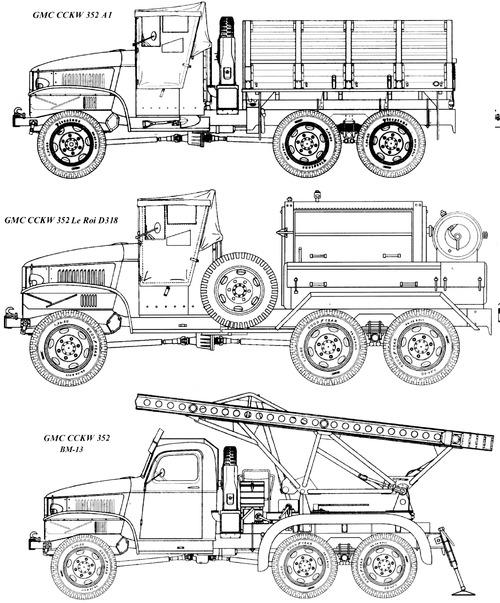GMC CCKW-352 2.5ton 6x6