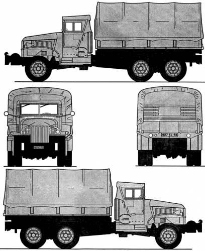 GMC CCKW-353 2.5t 6x6