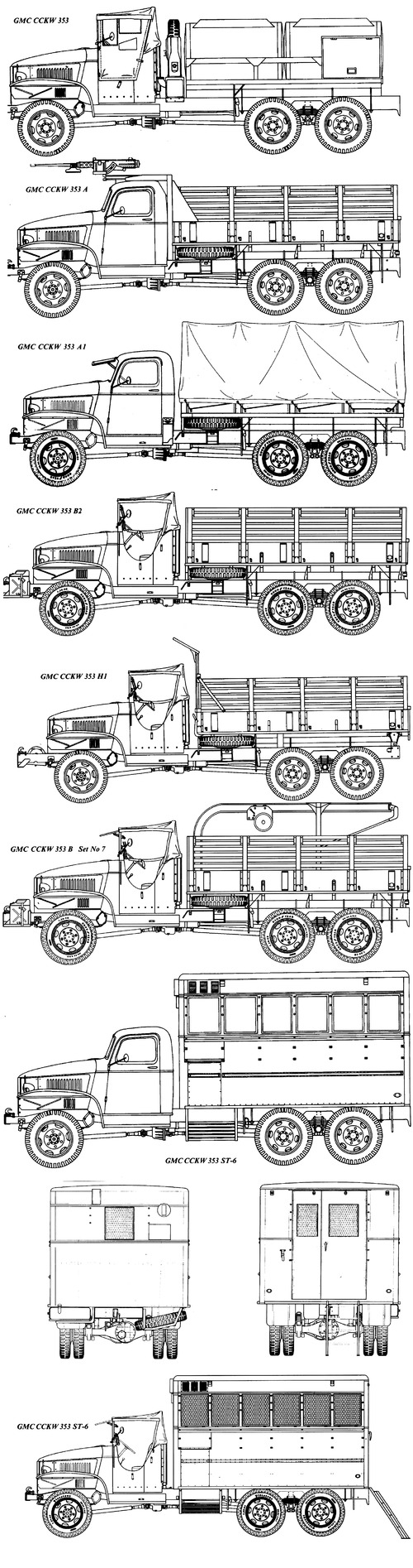 GMC CCKW-353 2.5ton 6x6