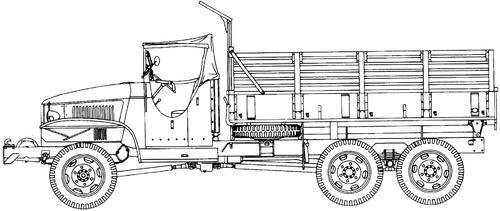 GMC CCKW-353 H1 2.5 ton 6x6