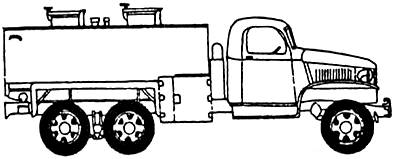 GMC DUKW-353 2.5-ton 6x6 Tanker (1943)