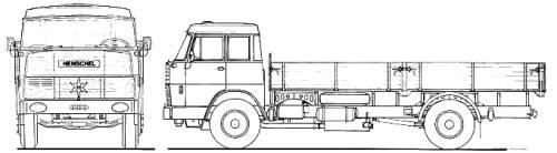 Henschel HS15 TL Double Cab