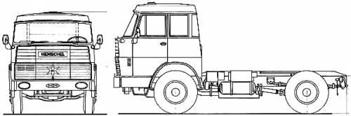 Henschel HS15 TS Double Cab