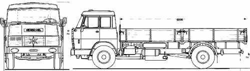 Henschel HS19 TL Double Cab