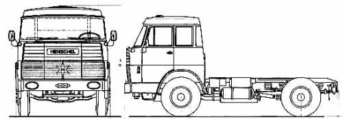 Henschel HS19 TS Double Cab
