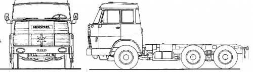 Henschel HS22 TLN Double Cab