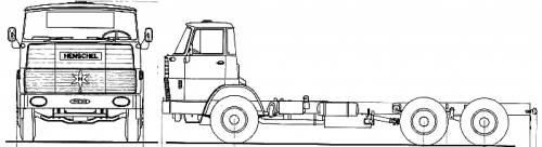 Henschel HS22 TS