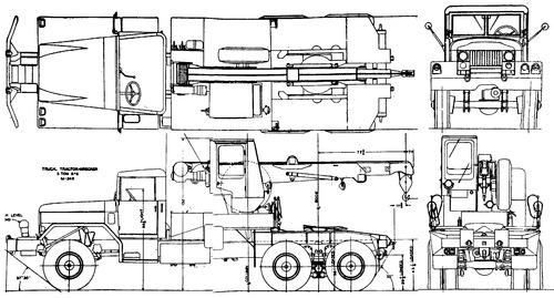 International Haevester M246 5ton 6x6 Wrecker (1959)